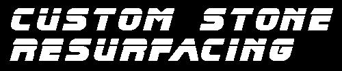 Custom Stone Resurfacing Logo